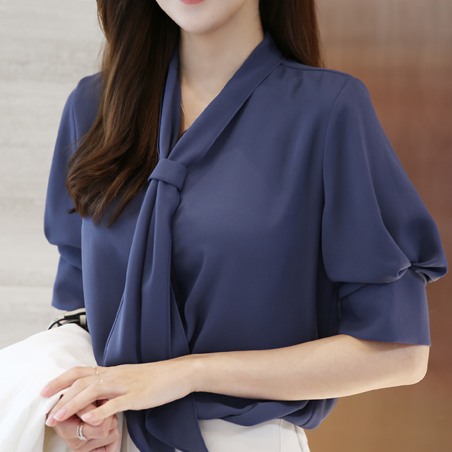 likeher-디올즈 타이블랑bl:고급스러운 디자인:3color♡韓國女裝上衣