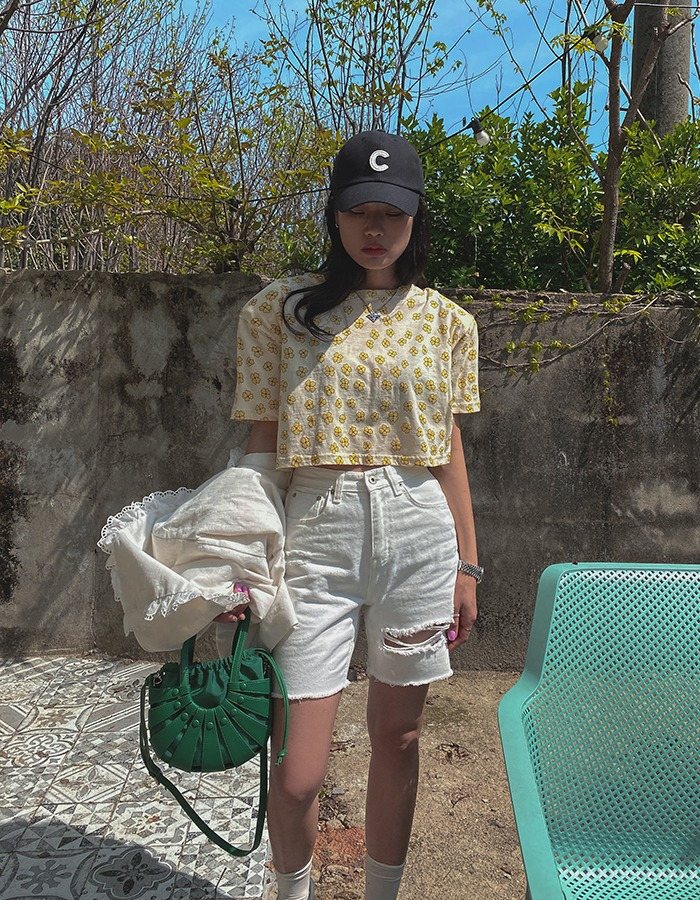 maymay-아이 구제4부팬츠♡韓國女裝褲