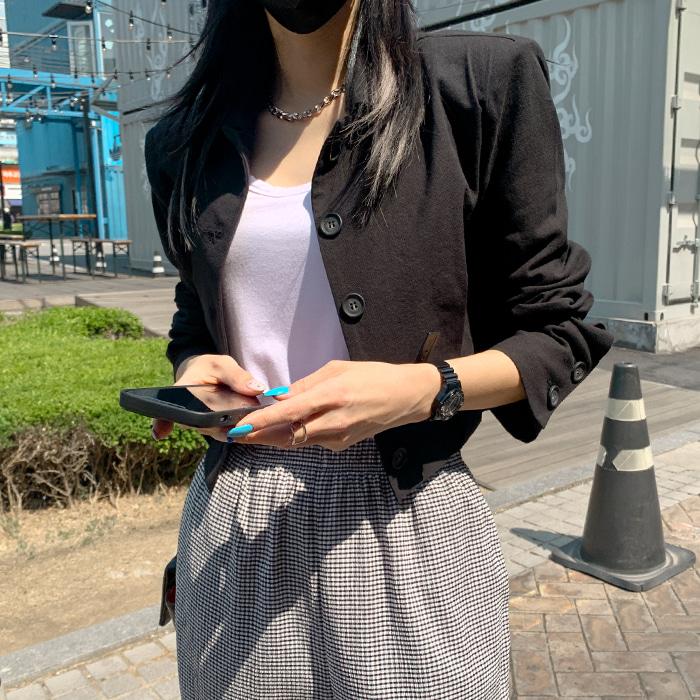 deepny-체징코튼크롭자켓♡韓國女裝外套