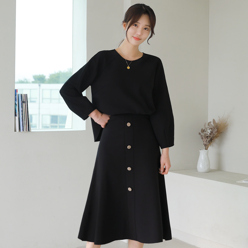 loveparis-[러패제작]no.15 굿텐션 나그랑 언발블라우스(2color)♡韓國女裝上衣