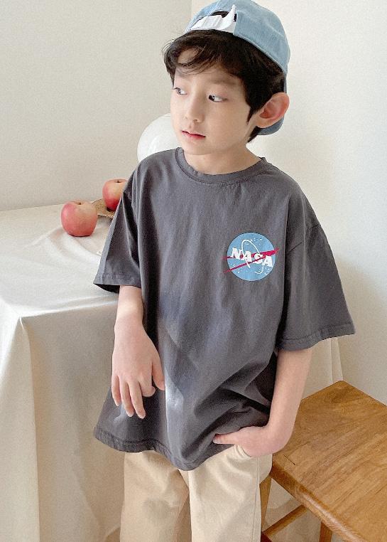 styleggom-우주 반팔TEE♡韓國童裝上衣