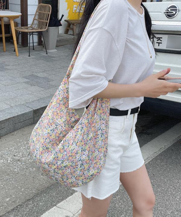loveloveme-포리 플라워에코백 | 럽미♡韓國女裝袋