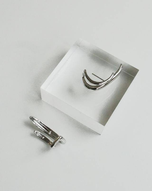 dreseoul-[E442] tflare up earring - DRE♡韓國女裝飾品