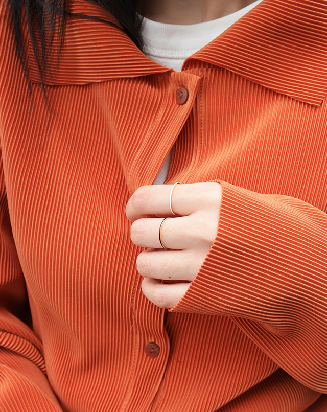 dreseoul-[R469] thin glossy ring - DRE♡韓國女裝飾品