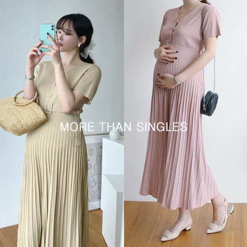 280days-[돌체벨트원피스/임산부]임부복 2 8 0 DAYS - 느낌있는 임부복쇼핑몰♡韓國孕婦裝連身裙