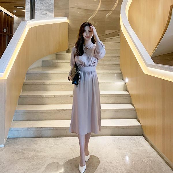 benito-엔뉴엘 원피스 신상/롱/하객/하객룩/베스트/여성/데일리♡韓國女裝連身裙