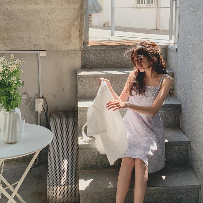 cherrykoko-[데이지 미니 원피스]♡韓國女裝連身裙