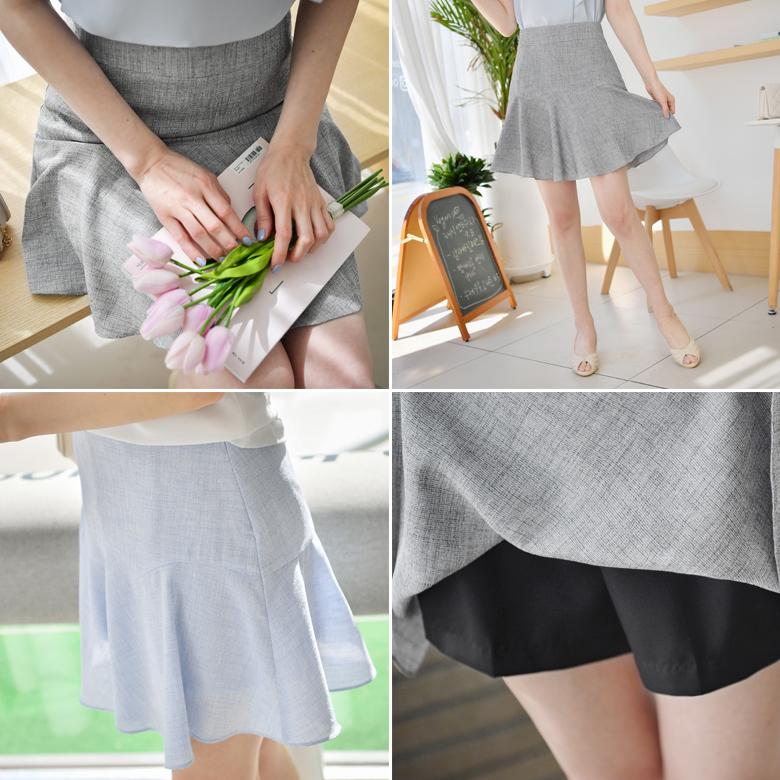 midasb-[앙트 절개 치마바지]♡韓國女裝褲