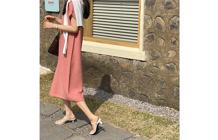dailylook-튤립홀가원피스♡韓國女裝連身裙