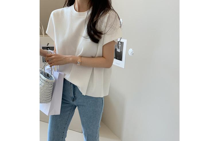 dailylook-타임스반팔니트♡韓國女裝上衣