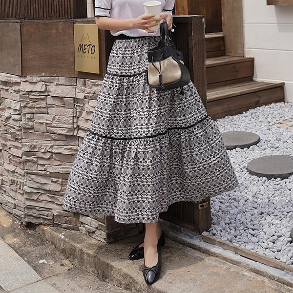 canmart-[헤일리나염캉캉스커트 C041510]♡韓國女裝裙