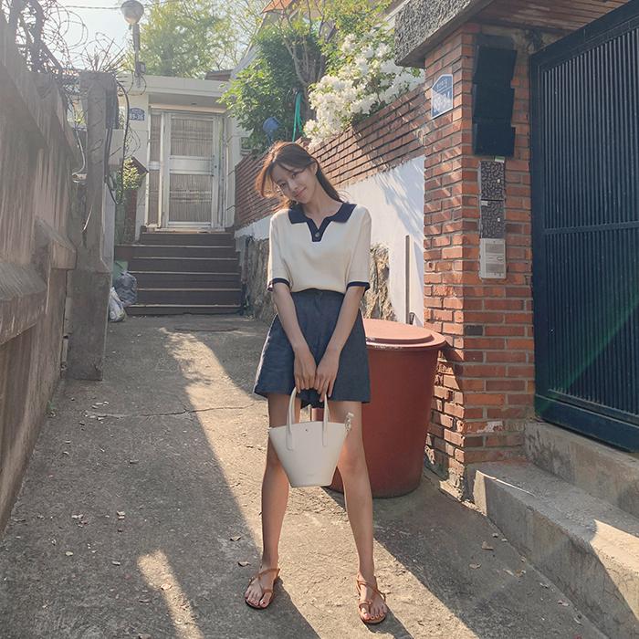 cherrykoko-[[세트할인] 웨스트 린넨 팬츠]♡韓國女裝褲