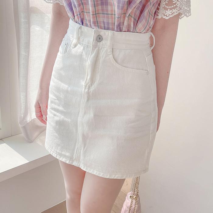 myfiona-다비드 베이직 면스커트 a1461 - 러블리 로맨틱 1위 쇼핑몰 피오나♡韓國女裝裙