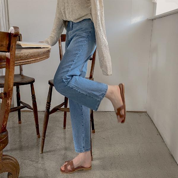 realcoco-♥NEW10%할인♥라이어 루즈핏 데님 팬츠(데일리/봄/베이직)♡韓國女裝褲