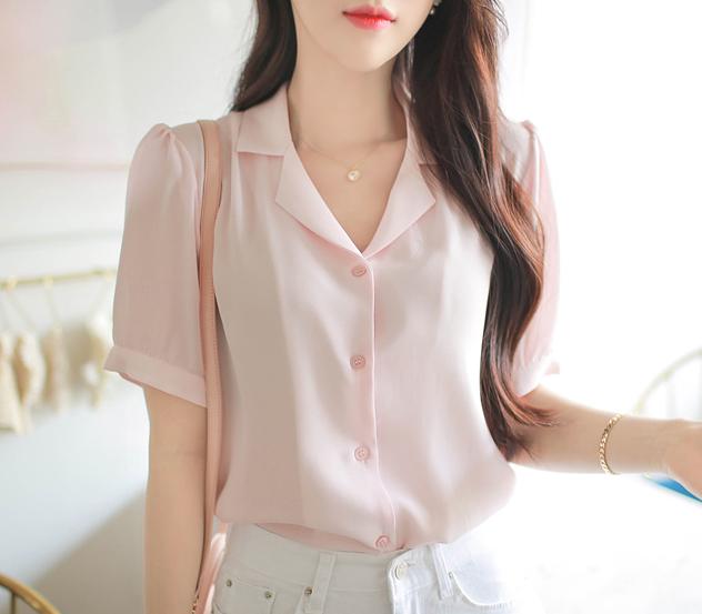 myfiona-클리네이드 블라우스a0427 - 러블리 로맨틱 1위 쇼핑몰 피오나♡韓國女裝上衣