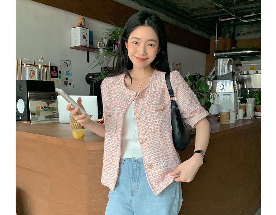 frombeginning-웨이브링 펜던트목걸이 (2color)♡韓國女裝飾品