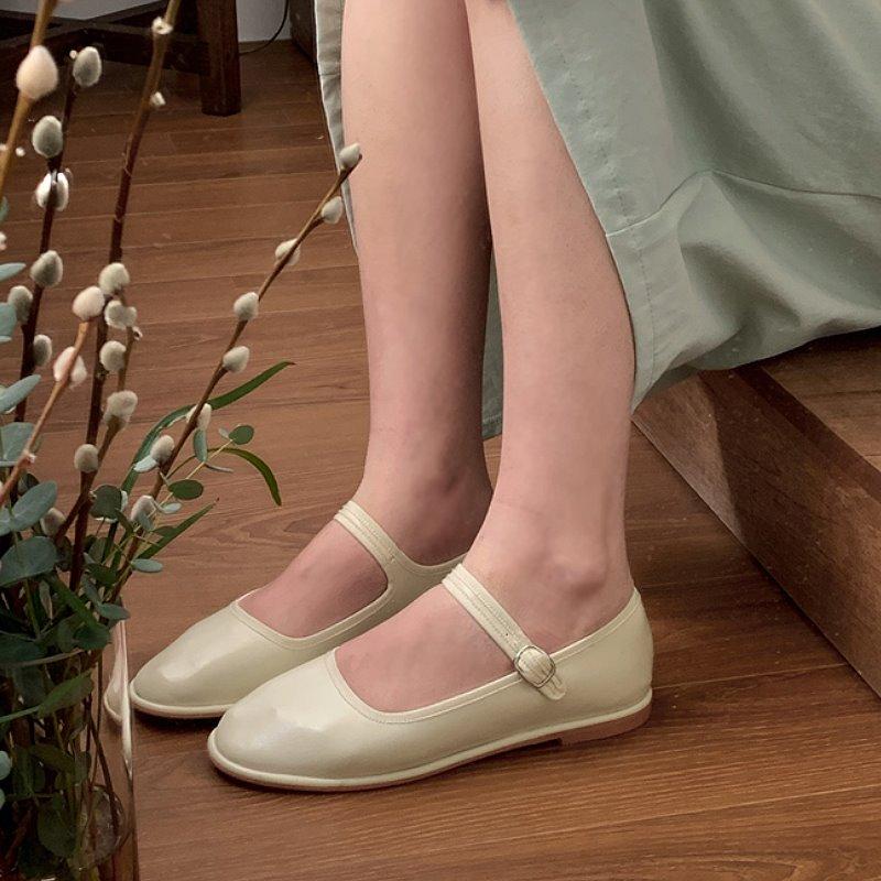 laurenhi-플레나 메리제인 플랫 단화 - 2 color♡韓國女裝鞋