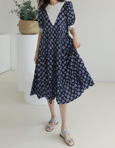 indibrand-다이아나 원피스 (수입)♡韓國女裝連身裙