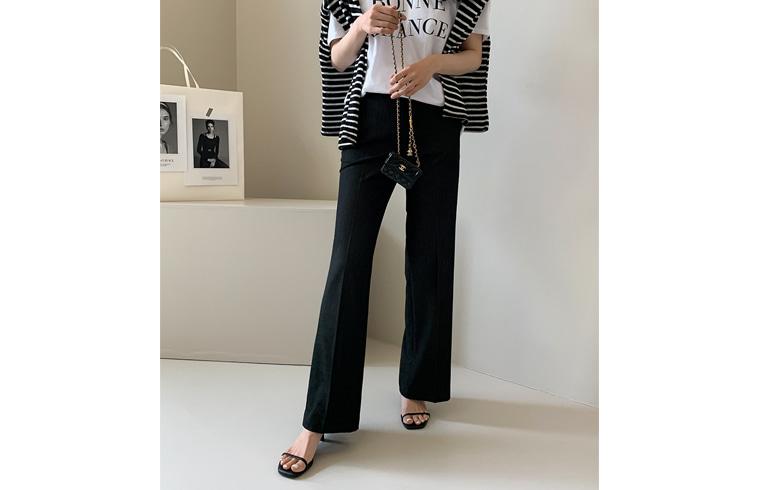 dailylook-썸머부츠컷슬랙스♡韓國女裝褲