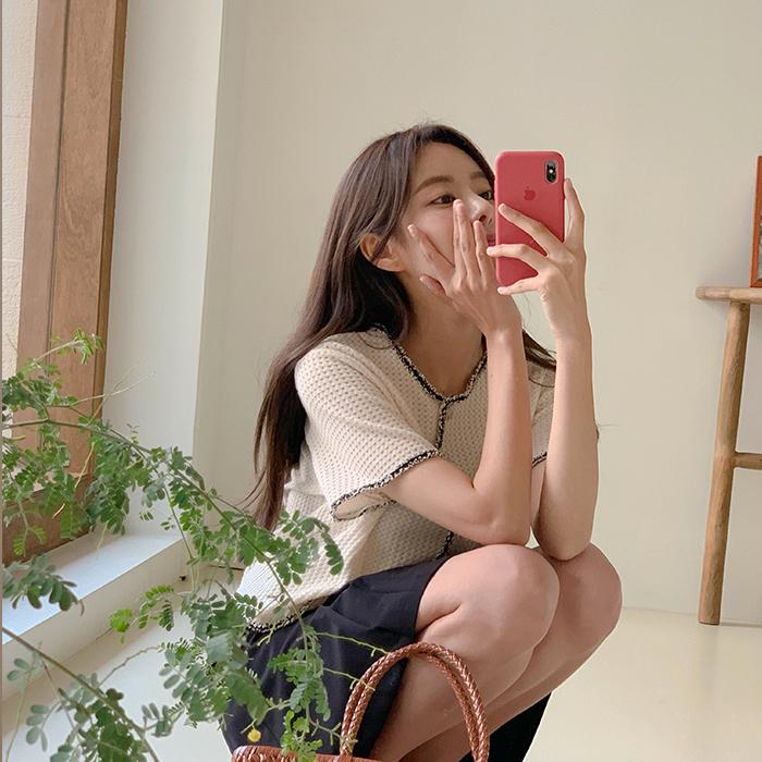 cherrykoko-[베티 트위드 가디건]♡韓國女裝外套