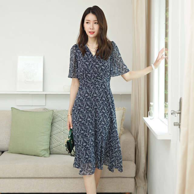 tiramisu-6945엔젤쉬폰원피스♡韓國女裝連身裙