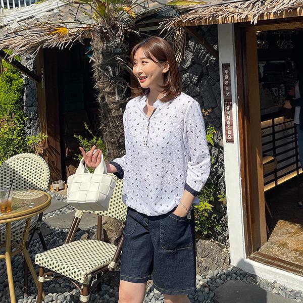 canmart-[앵두반오픈셔츠 C042102]♡韓國女裝上衣