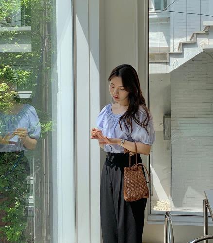 withyoon-세비아 blouse♡韓國女裝上衣