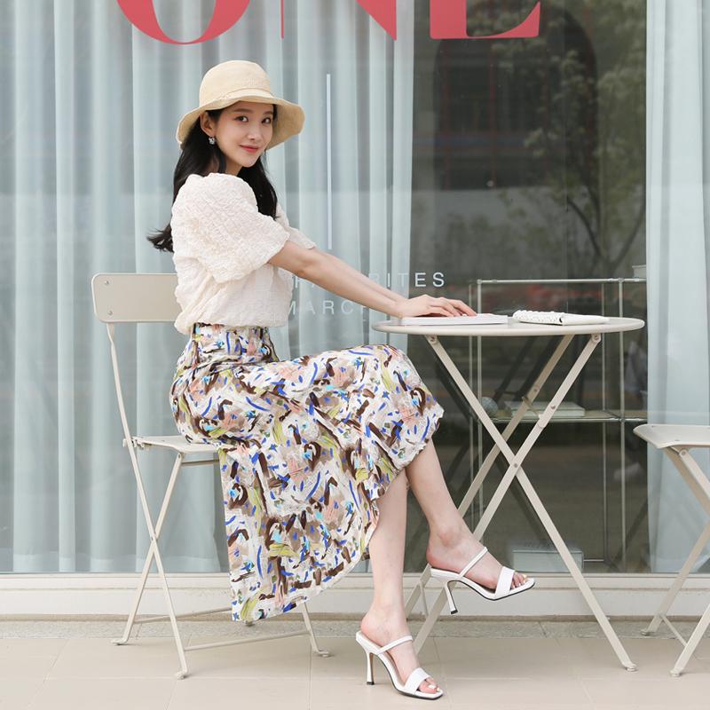 clicknfunny-윈클리 패턴스커트♡韓國女裝裙