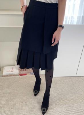 cocostory-[럭스 사이드 플리츠 스커트-힙하고 아주 섹시한 스커트^^ 주인장 강추]♡韓國女裝裙