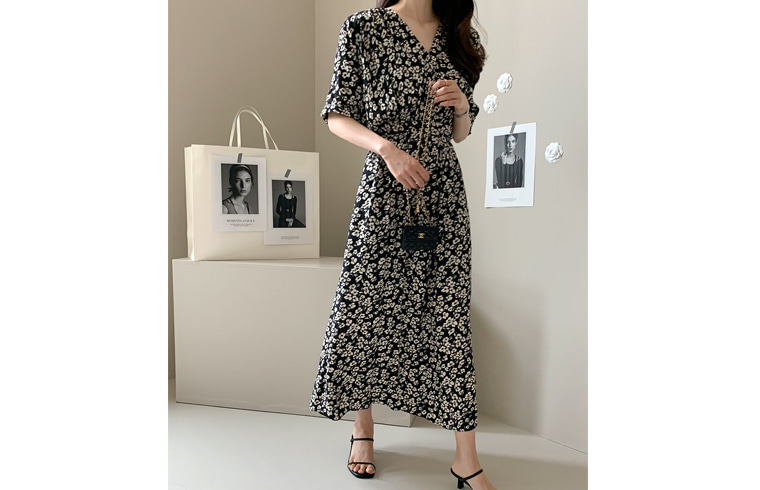 dailylook-플로린셔링원피스♡韓國女裝連身裙