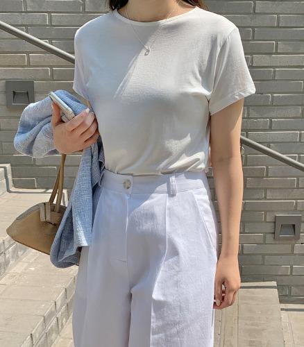 withyoon-플랫 - made tee♡韓國女裝上衣