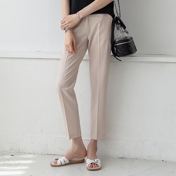 misscandy-[no.20393 베이직 슬림배기핏 썸머슬랙스]♡韓國女裝褲