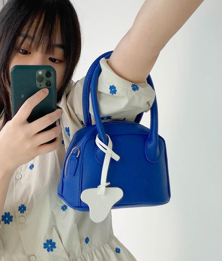 mixxmix-볼링 미니 핸드백♡韓國女裝袋