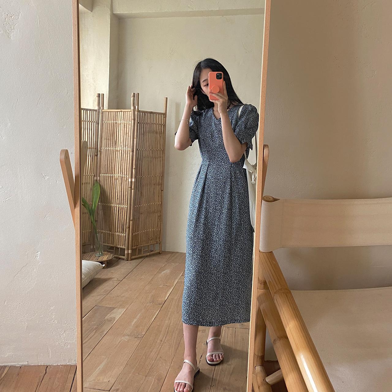 cherrykoko-[[베스트 재입고] 주니 플라워 원피스]♡韓國女裝連身裙