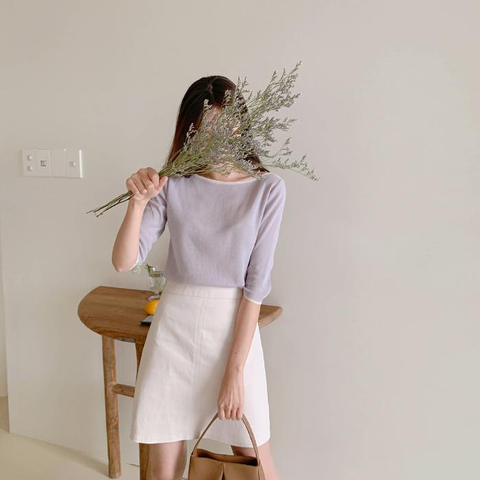 cherrykoko-[샌디 립라인  니트]♡韓國女裝上衣