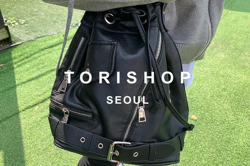 torishop-아일렛 라이더크로스BAG (2color)♡韓國女裝袋