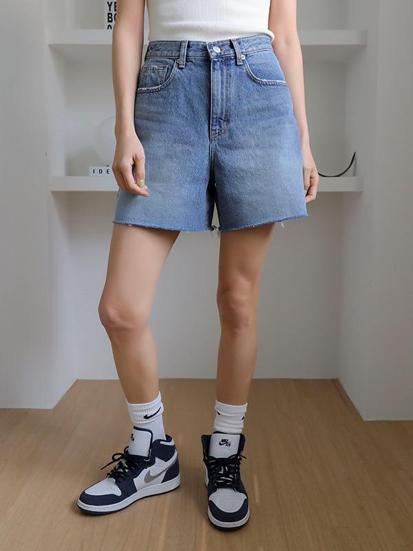11am-제슨 데님 숏츠(4주소요)♡韓國女裝褲