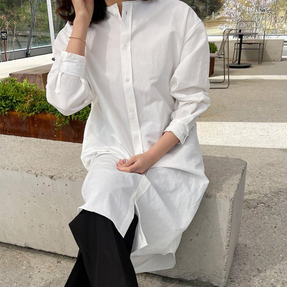 littleblack-린넨 셔츠 원피스(린넨30)♡韓國女裝連身裙