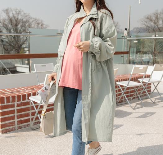 soim-[임부복*간절기스트링 야상자켓]♡韓國孕婦裝外套