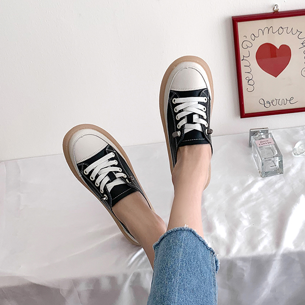 canmart-[리타가죽스니커즈 C040902]♡韓國女裝鞋