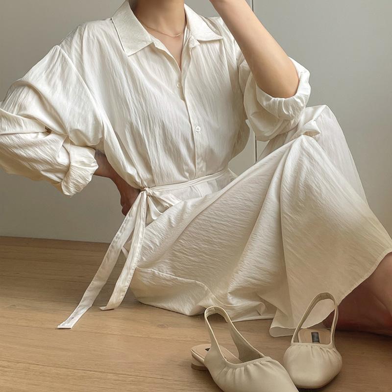 loveparis-NEW★8%할인4/9(금)부터 정상가59,900원모어앤 롱 셔츠원피스♡韓國女裝連身裙