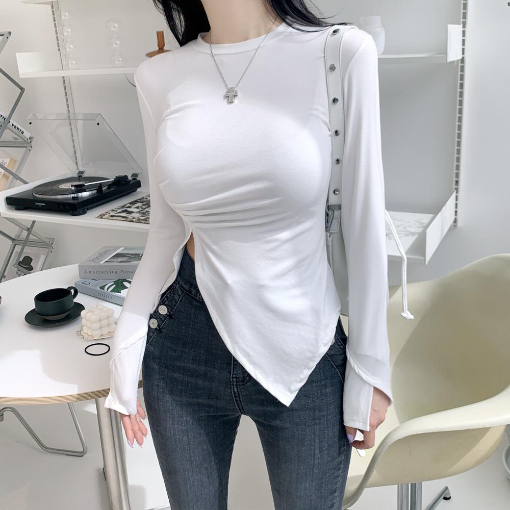 uinme-볼륨 레이어 티 - [ 3color ] - 유인미볼륨 레이어 티 - [ 3color ] - 유인미♡韓國女裝上衣