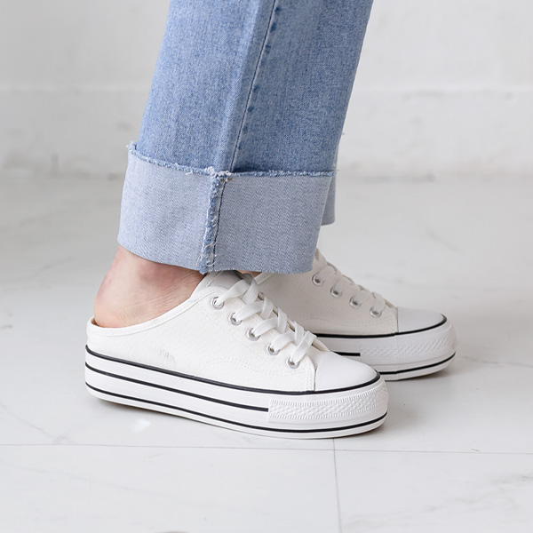 misscandy-[no.20274 키높이굽 슬리퍼 뮬운동화]♡韓國女裝鞋