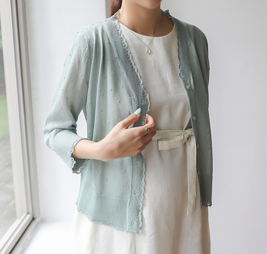 soim-[임부복*물방울 여름가디건]♡韓國孕婦裝外套
