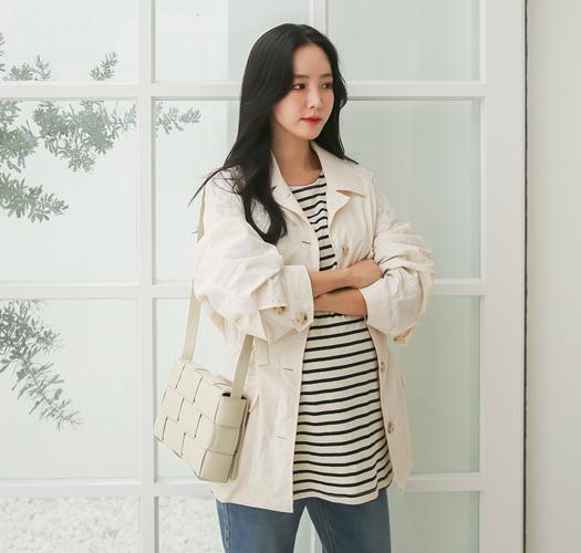 soim-[임부복*간절기 바람막이야상]♡韓國孕婦裝外套