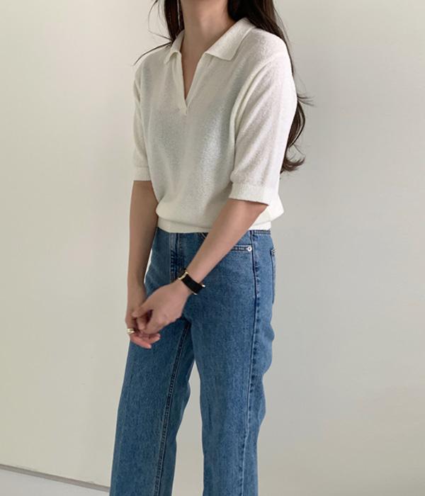 veryyou-부클 카라 NT♡韓國女裝上衣