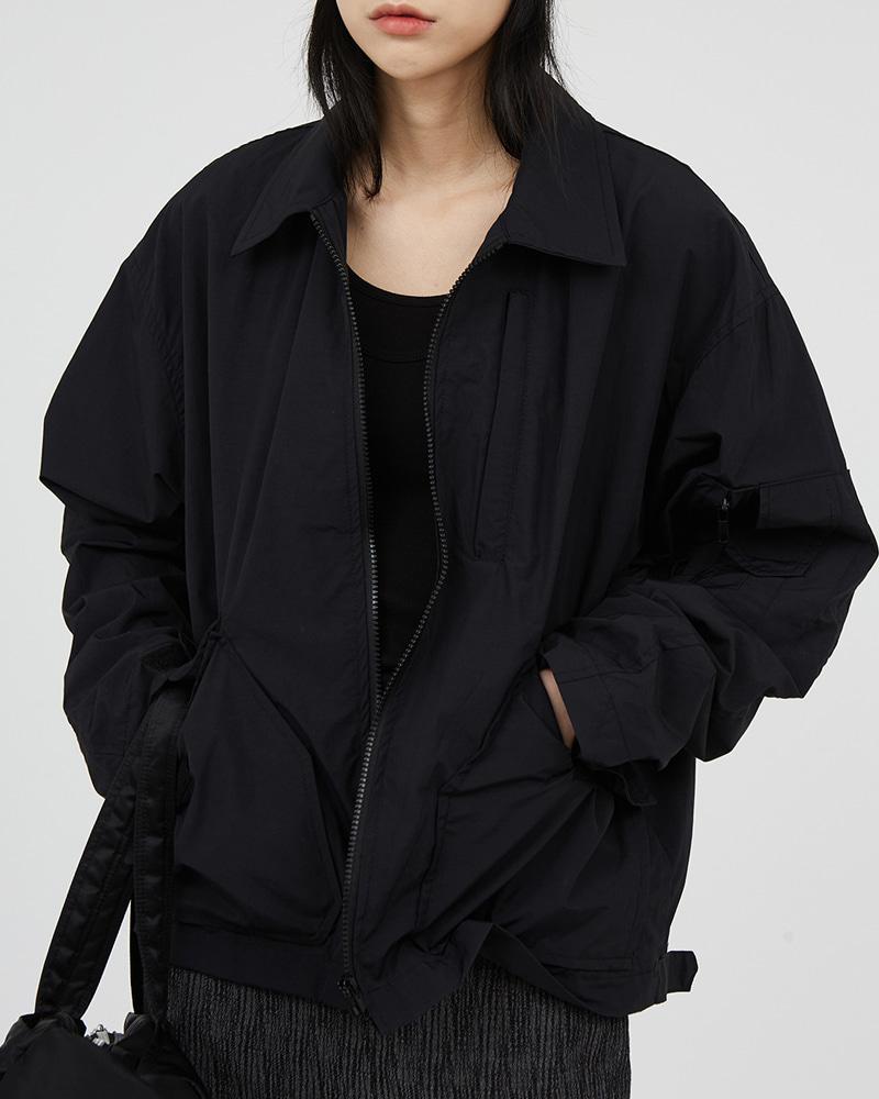 raucohouse-투 포켓 카라 집업 자켓♡韓國男裝外套