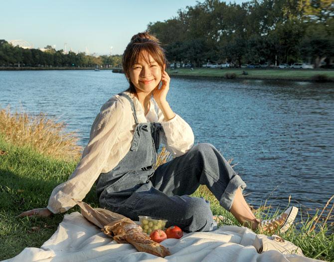 chichera-세련된 그녀들의 선택, 시크헤라[동안데님팬츠_몰리점프수트]♡韓國女裝褲