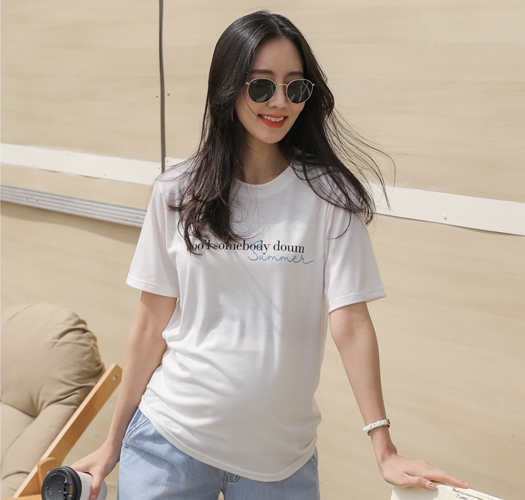 soim-[임부복*썸머라이프 티셔츠]♡韓國孕婦裝上衣