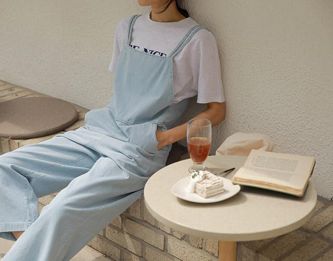 chichera-세련된 그녀들의 선택, 시크헤라[토이데님점프수트]♡韓國女裝褲